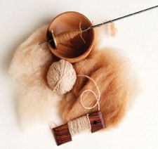 Free Guide to Spinning Alpaca Wool + free project