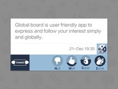 Global Board Rating Feature by Keypixel