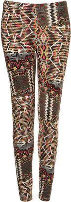 ShopStyle: Aztec Print Leggings