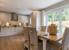 Visit Springfields, a stunning new Redrow development in Huddersfield. We have beautiful 3 & 4 bedroom homes available. Find your dream home today! Kitchen Family Rooms, New Kitchen, Kitchen Decor, Kitchen Design, Kitchen Ideas, Bovis Homes, Redrow Homes, Open Plan Kitchen Diner, Bungalow Interiors