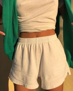 style inspiration + summer aesthetic + fashion + vacation outfit + beauty + beach look + sunglasses + tanned + mood board + sun kissed Mode Outfits, Trendy Outfits, Fashion Outfits, Fashion Shorts, Travel Outfits, Fashion Tips, Fashion Ideas, Fashion Belts, Hipster Outfits