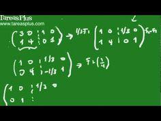 Como calcular la inversa de una matriz parte1
