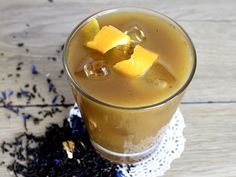 Earl Grey Crème Gin Infused Cocktail ~ Indulge in Earl Grey Crème Tea infused with an extra hint of orange flavor. Every sip of this sophisticated cocktail is a delightful treat! Tea Recipes, Smoothie Recipes, Gourmet Recipes, Tea Cocktails, Cocktail Recipes, Drinks, Beverages, Passion Fruit Juice, Earl Gray