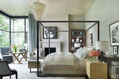 Frist residence in Nashville, TN. Ray Booth of McAlpine Booth & Ferrier Interiors. Architectural Digest.