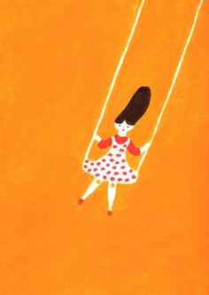 Cool, naive, childish, drawing, painting by higuchi sakuya Japanese Illustration, Cute Illustration, Rocky Horror, Wassily Kandinsky, Collage, Art World, Animation, Painting & Drawing, Illustrations Posters