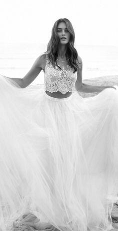 12 bohemiska brudklänningar för sommarbröllopet