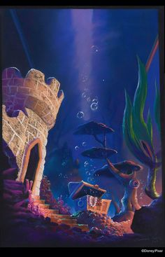 Finding Nemo Concept Artwork