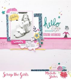 I've been pretty slack at sharing things here when I should lately the last week has been a little hectic, so I completely forgot to share this here and on the blog for @scrapthegirls when our newest board was released last week. We've got a fun shoe themed board to play along with, which was perfect for this photo I had of Leila. I used the fun Glitter Girl collection by @shimelle for @americancrafts close ups on the blog #gettinhercraftonaus #scrapbooking #scrapthegirls #glittergir...