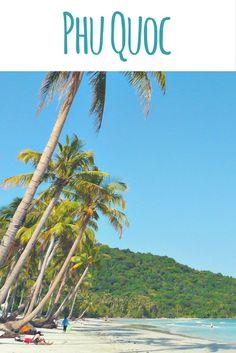 In der Sonne liegen, im Meer schwimmen und schnorcheln - dazu flog ich auf Vietnams größte Insel Phu Quoc. Hier gab es weißen Strand und schöne Kokospalmen.