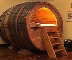 Barrel Bed
