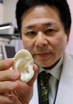 Japanese Researchers Say Bone and Tissue Bioprinting Process Could Be A Year Away From Use In Humans - Japanese scientists say they're well on the way to creating custom-made skin, bone, cartilege and joints using 3D bioprinting technology.
