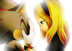 Shadow the Hedgehog and Maria shadow realizes what he has done wrong