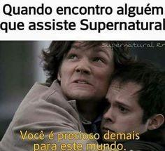 Supernatural Series, Supernatural Funny, Spn Memes, Funny Memes, Teen Wolf, Geek Humor, Super Natural, Destiel, Superwholock
