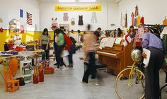 "Wow--so awesome. Must go. ""Garage Sale at 11 West 53rd Street! MoMA Curator Sabine Breitwieser on Crowdsourcing Junk for Martha Rosler"""
