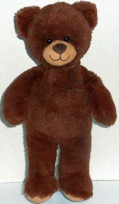 Build a Bear Workshop Curly Brown Tan Plush Teddy Toy Stuffed Animal Doll