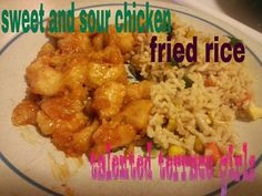 Talented Terrace Girls: Sweet and Sour Chicken