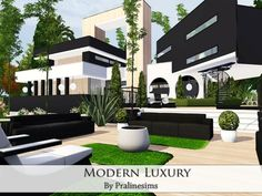 EP's required: Found in TSR Category 'Sims 3 Residential Lots' Sims 4 Loft, Sims 3, The Sims 4 Houses, Sims 4 Kitchen, Luxury Modern Homes, Casas The Sims 4, Sims House Design, Sims Building, New Mods