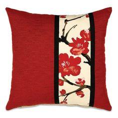 Sakura Collection - 18x18 Accent Pillow