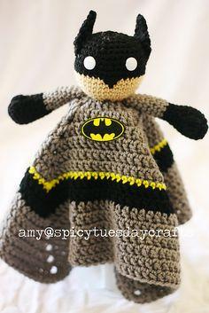 Ravelry: Gotham Guardian Blanket Buddy pattern by Amy McC Anderson