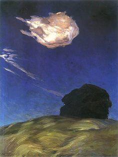 Ferdynand Ruszczyc (1870–1936), Obłok - 1902