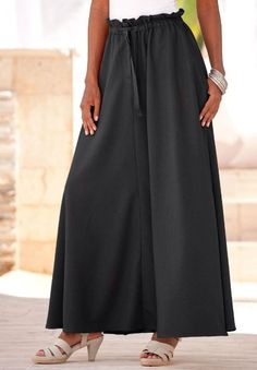 Amazon.com: Denim 24/7 Plus Size Paperbag Maxi Skirt: Clothing $59