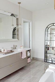 Classic and chic bathroom from Jillian Harris!