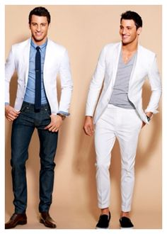 Vintage Men's Textured White Blazer by LETTEVINTAGE on Etsy, $60.00