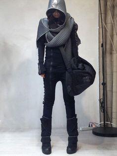 884f0d453416 simply miu Киберпанк Мода, Темная Мода, Городская Уличная Мода, Мода  Будущего, Модные