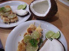 Karibische Kokos - Garnelen