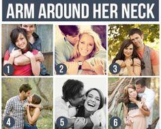 Around the neck