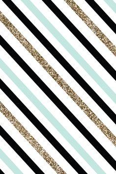 Multicolored diagonal stripes
