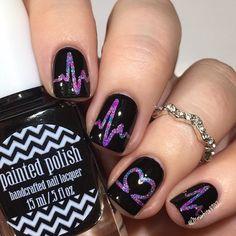Galaxy heartbeats nails