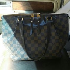 Louis vuitton Westminister pm with wallet Westminster pm with matching Josephine wallet. Both in good used conditions.  Both authentic and will come with boxes. Some minor blemishes. Will add more detailed pictures in the AM. Reasonable Offers welcome. NO TRADES. Please look in closet for additional pictures . Louis Vuitton Bags