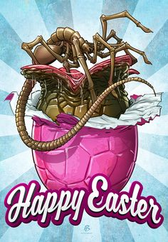 Happy Easter everyone! by PatrickBrown on DeviantArt
