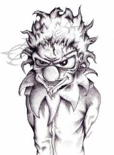 November rain - Guns n' Roses by Wakko Tattoo Drawings, Pencil Drawings, Evil Clown Tattoos, November Rain, Evil Clowns, Guns N Roses, Clip Art, Deviantart, Ink
