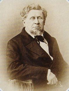 Николай Иванович Тургенев, 1860-е годы, фотокопия со снимка парижского фотографа М. Алофа: