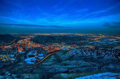 Denver, Colorado (from Lookout Mountain in Golden)
