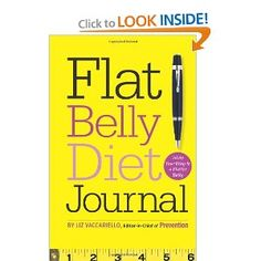 Flat Belly Diet! Journal: Write Your Way to a Flatter Belly --- http://www.amazon.com/Flat-Belly-Diet-Journal-Flatter/dp/B005EP1RCG/?tag=tadist-20