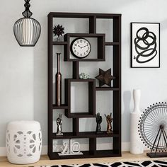 Find budget Vaccaro Cube Unit Bookcase By Brayden Studio Cube Bookcase, Etagere Bookcase, Modern Bookcase, Wood Shelves, Shelving, Display Shelves, Living Room Furniture, Home Furniture, Colored Dining Chairs
