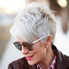 Short Hairstyles for Over 60 Years Old with Glasses Fresh Women 50 Short Hair Sh. - Short Hairstyles for Over 60 Years Old with Glasses Fresh Women 50 Short Hair Sh. Over 60 Hairstyles, Haircuts For Fine Hair, Best Short Haircuts, Trending Hairstyles, Short Hairstyles For Women, Cool Hairstyles, Gorgeous Hairstyles, Pixie Haircuts, Haircut Short