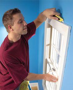 sealing window and door drafts