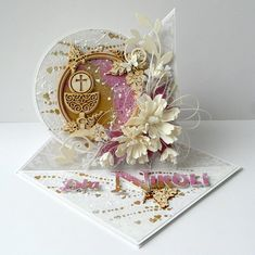 Blog Craft Passion: Komunijne trojaczki / Communion cards