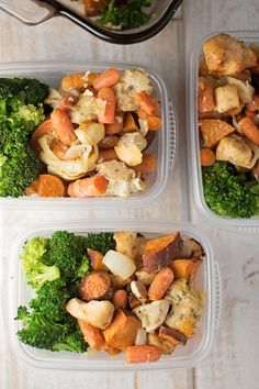 Simple & Healthy Chicken Sweet Potato Bake- meal prep this and it makes so much great food!