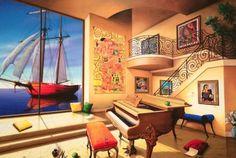 Love Boat by Orlando Quevedo