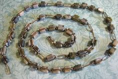 necklace with stick cut stone beads - Google Search