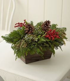 Find the best Woodland Canella Berry Centerpiece, Regular at L. Our high quality home goods are designed to help turn any space into an outdoor-inspired retreat. Christmas Planters, Christmas Greenery, Woodland Christmas, Christmas Flowers, Rustic Christmas, Christmas Home, Christmas Quotes, Christmas Trees, Christmas Floral Arrangements