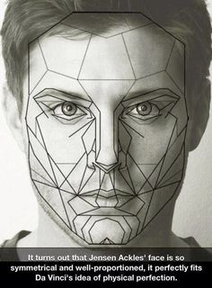 """castiel-knight-of-hell:  carryonmypreciousbaby:  Can you imagine if someone showed him this? Jared would laugh his giant ass off and Jensen would just give him the silent """"die slowly"""" glare.  now I want a Supernatural where they meet Da Vinci (his ghost or time travel, I don't even care) and Da Vinci spends the whole episode in awe of Dean and makes numerous sketches of his face"""