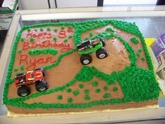 moster truck cake