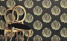 York Wallcoverings Peek-A-Boo Stripe Wallpaper - - Modern Wall Covering Romo Wallpaper, Floor Wallpaper, Striped Wallpaper, Cool Patterns, Textile Patterns, Textile Design, Fabric Design, Textiles, Romo Fabrics