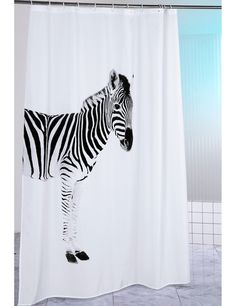 Duschvorhang «Zebra»